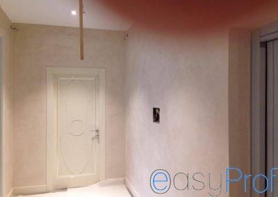 Easyprof Stucco Veneziano Milano dettaglio corridoio
