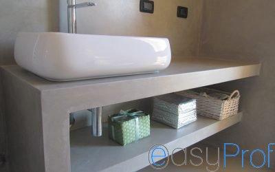 Lavori in cartongesso nel bagno per eliminare umidità e sfruttare ogni spazio