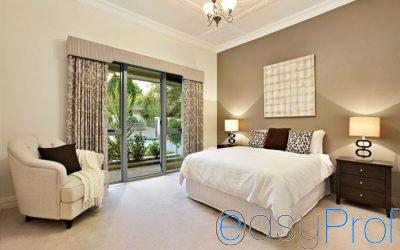 Imbiancare casa, come e quale colore scegliere per le pareti della camera da letto