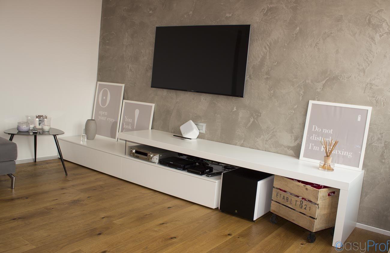 Pareti effetto cemento e il trionfo dello stile for Decorazioni pareti soggiorno