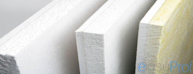 Rivestimento muri in cartongesso e polistirene, contro muffe e umidità