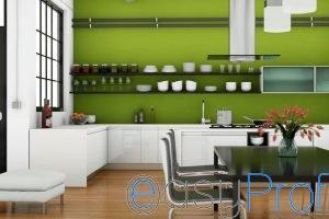 Quali colori scegliere per pitturare la cucina - Bagno verde mela ...