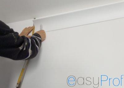 Posa e montaggio cornici in polistirolo appartamento Milano