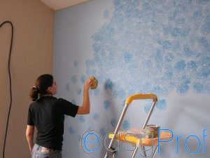 Le principali tecniche di pittura per dipingere le pareti - Tecnica di pittura per pareti interne ...