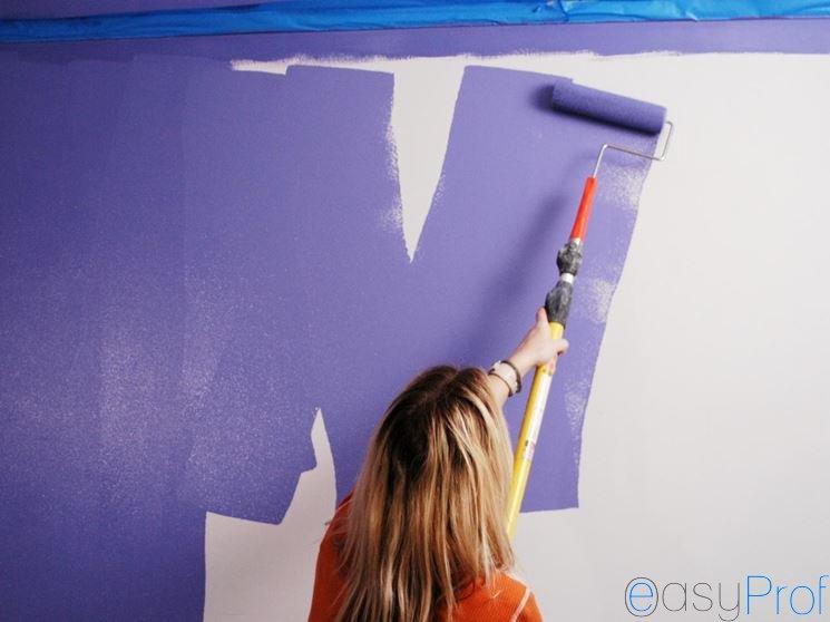 Come tinteggiare le pareti in cartongesso