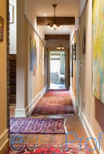 Come dipingere la zona d 39 ingresso di casa imbianchino - Tappeti per ingresso casa ...
