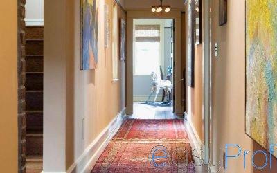 Come dipingere la zona d'ingresso di casa
