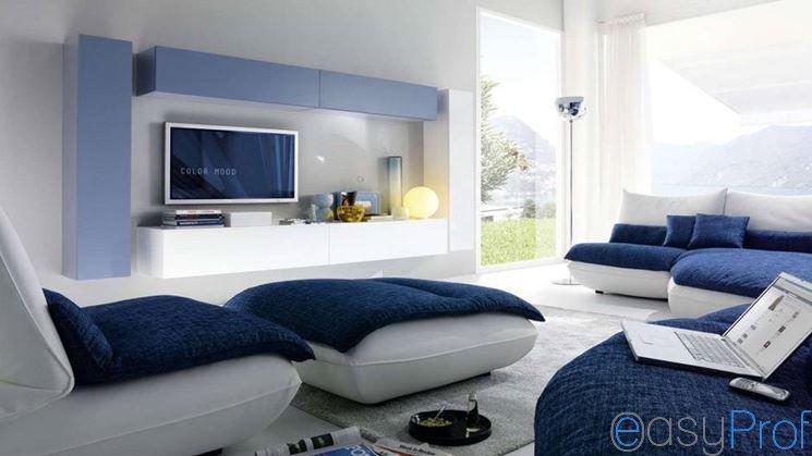 Rimodernare il vostro soggiorno cominciate dal dipingere le pareti imbianchino milano - Come rimodernare casa ...