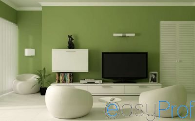 Rimodernare il vostro soggiorno, cominciate dal dipingere le pareti