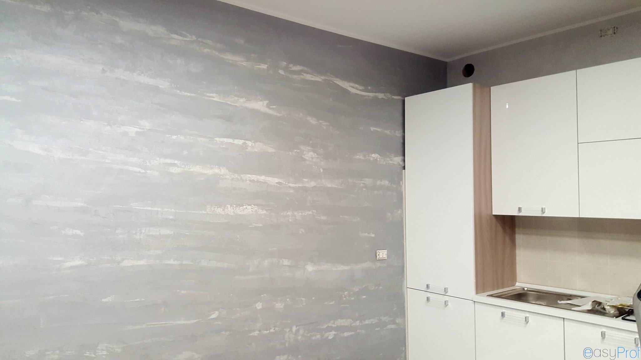 Pittura Stucco Veneziano Foto spatolato con pittura perlata a cormano milano - imbianchino