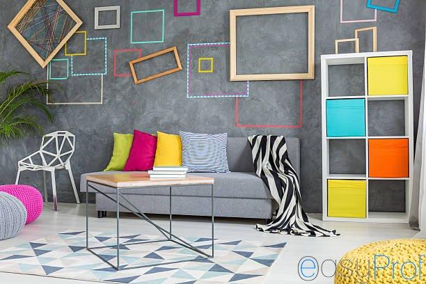 Come abbinare i colori delle pareti all'arredamento di casa